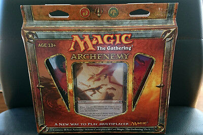 Magic the Gathering Archenemy 2010 Scorch the World with Dragonfire UNOPENED MT