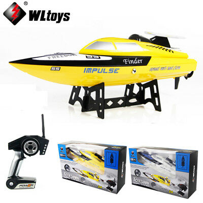 WLTOYS WL912 2.4G Remote Control High Speed RC Racing Boat Max to 24KM/H