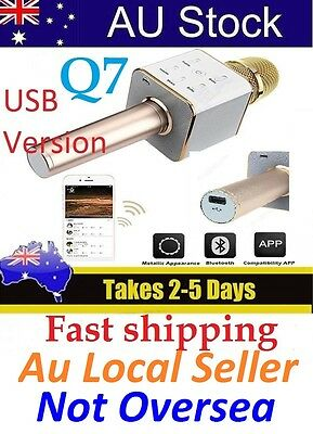 Wireless Microphone Q7 Karaoke For Andriod,IPhone,Tablets,Ipad