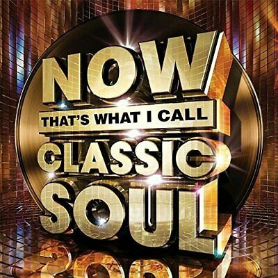 Now That's What I Call Classic Soul -  CD X3VG The Cheap Fast Free Post The