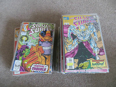 Marvel Comic Bundle Silver Surfer COMICS AND ANNUALS