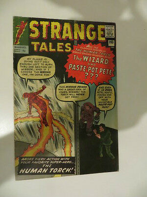 Strange Tales #110 (Off-White to White Pages) -1st App of Doctor Strange