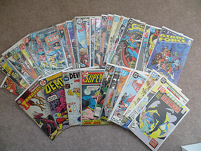 Dc Comics Bundle Bronze- Modern Age Issues Shown & All Listed