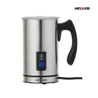 Heller Electric Coffee Milk Frother & Warmer -Stainless Steel