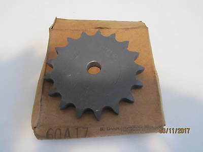 """Browning single size 60 chain 17Tooth 5/8"""" bore sprocket"""