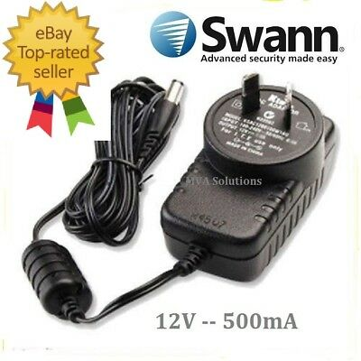 Swann Power Supply/ Switching Adapter Output: 12V 500mA