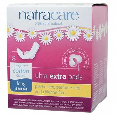 NATRACARE Ultra Extra Wings Long 8 pads