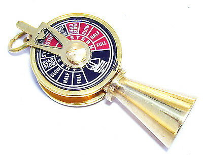 Brass  Vintage Style Brass Telegraph Necklace Key Ring Gift