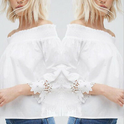Fashion Women's Ladies Summer Loose Tops Long Sleeve Shirt Casual Blouse