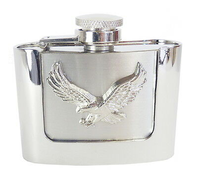 Flachmann Flask Gürtelschnalle Flakon - Flying Eagle 2oz (60ml) Western Buckles