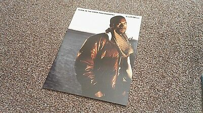 Kanye West  Glow In The Dark Official Tour Photography Book Nearly New