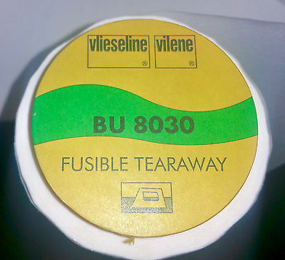 Vilene I/O Tearaway stabiliser for Embroidery - 90cm wide