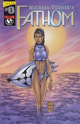 FATHOM WIZARD 0 ...NM-.... 1998 . Michael Turner! .....Hard to Find Bargain!