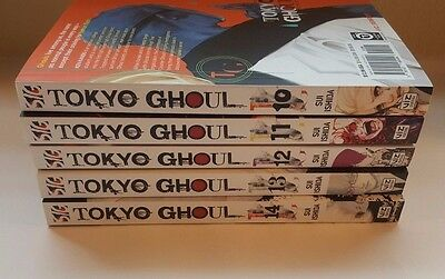 *NEW* Tokyo Ghoul (Vol. 10 - 14) set English Manga Graphic Novels Sui Ishida lot