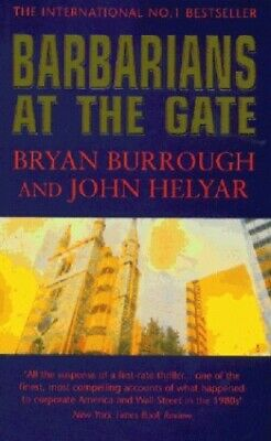 Barbarians At The Gate: Fall of R.J.R. Nabisco by Helyar, John Paperback Book