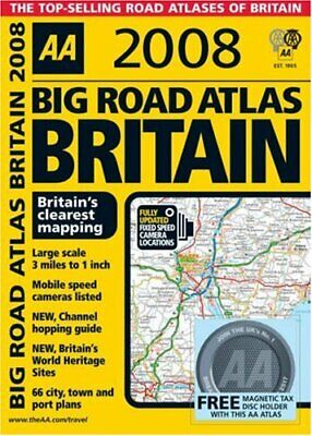 Big Road Atlas Britain (AA Atlases) (AA Atlases S.) Spiral bound Book The Cheap