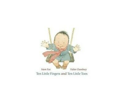 Ten Little Fingers and Ten Little Toes by Fox, Mem Book The Cheap Fast Free Post