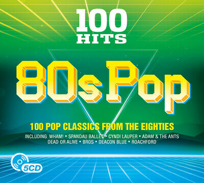 Various Artists : 100 Hits: 80s Pop CD (2017) ***NEW***