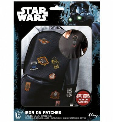 Official Star Wars Iron On Patches