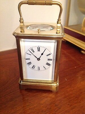 Henri Jacot Antique striking repeating Carriage clock Outstanding Condition