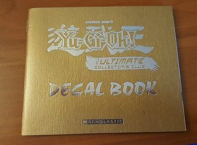 Shonen Jump's Yu-Gi-Oh! Ultimate Collector's Club Decal Book, Scholastic