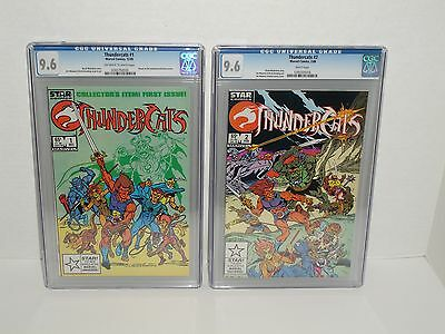 Thundercats #1 & #2 (1985) - CGC 9.6 (NM+)  Marvel - Star Comics