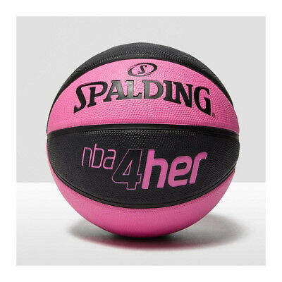 SPALDING NBA 4Her Basketball Ball [pink/black]