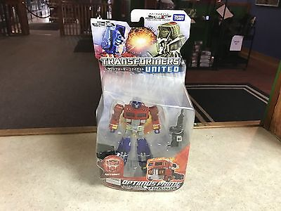 2012 Takara Tomy Transformers United Deluxe Class UN-06 OPTIMUS PRIME Figure MOC