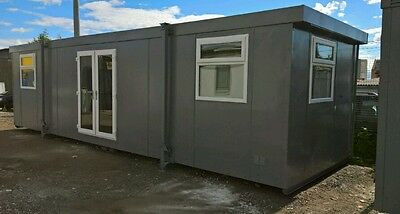 32ft Portable Cabin Portable Office Site Office Welfare Unit Portable Building