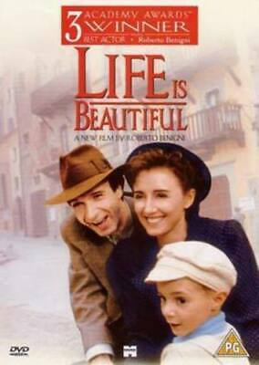 Life Is Beautiful DVD Roberto Benigni cert PG Expertly Refurbished Product