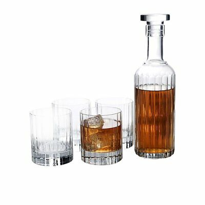 NEW Luigi Bormioli Bach 5pc Decanter Set (RRP $100)