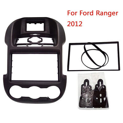 2DIN Radio Stereo Fascia Plate Panel Frame for Ford Ranger 2011+ 178*100mm