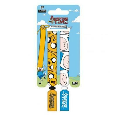 Adventure Time Festival Wristbands