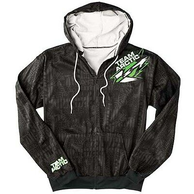 Arctic Cat Men's Team Arctic Race Zip Hoodie Sweatshirt - Black - 5239-85_
