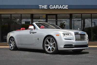 "2017 Rolls-Royce Dawn Convertible '17 Rolls Royce Dawn,615Miles,563HP,21"" Polished Wheels,Lane Depart,Dr Assist 1."
