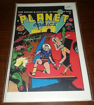 Planet Comics #1, Single issue published by ACG in 2000