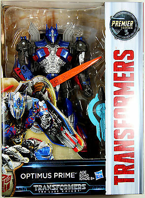 Transformers: Last Knight ~ OPTIMUS PRIME ACTION FIGURE ~ Voyager Class