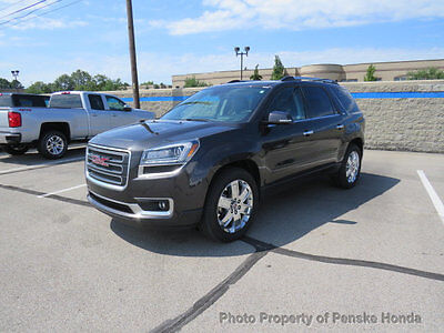 2017 GMC Acadia FWD 4dr Limited FWD 4dr Limited SUV Automatic Gasoline V6 Cyl GRAY