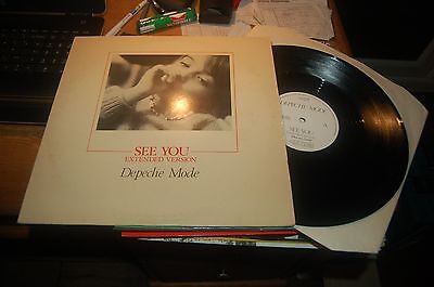 "12531 Depeche Mode See You 12"" Single Buy 5 LPs For £6 Post UK"