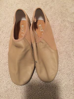 Bloch Tan Jazz Dance Shoes Euc 6.5 Women's