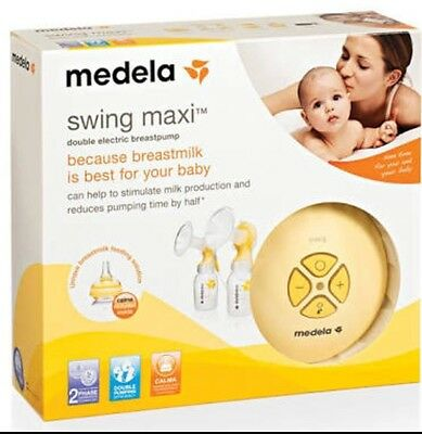 Medela Swing Maxi Double Electronic Breast Pump Set For Sale