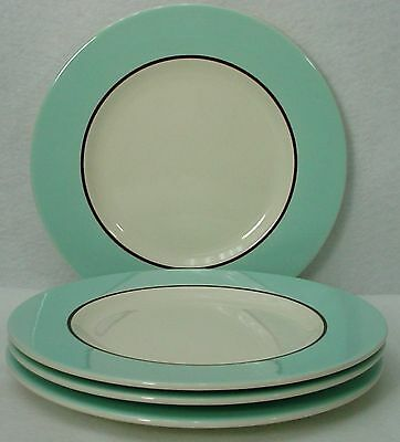 """PAGNOSSIN Italy china AUDREY Treviso SALAD PLATE 8"""" set of FOUR (4)"""