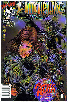Witchblade #10 Turner Cover 1St Appearance Of The Darkness (1996) Image Comics