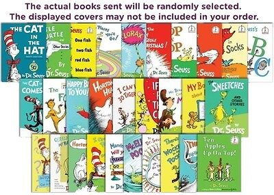 Five-Pack Bundle/Lot Of Dr. Seuss Books ~ Hardcovers