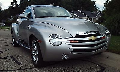 2006 Chevrolet SSR chrome package very low mileage 2006 Chevy SSR Convertible, Low Miles, Nearly New  Guaranteed ( see listing )