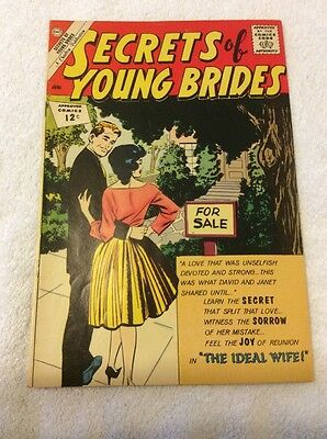 Secrets Of Young Brides # 31 , 1962