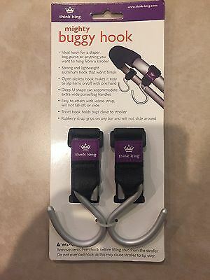 Mighty Buggy Hook For Stroller New