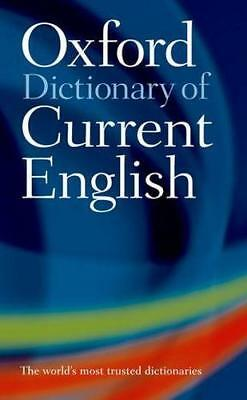 NEW The Oxford Dictionary of Current English By Edited Dictionary Paperback
