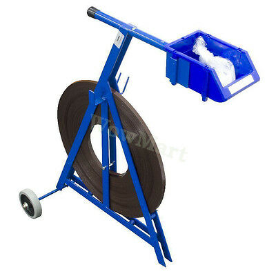 New Pacmasta Ribbon Mobile Steel Strapping Dispenser