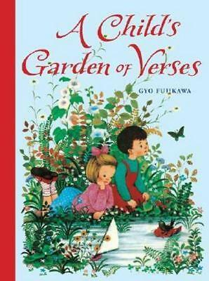 NEW A Child's Garden of Verses By Robert Louis Stevenson Hardcover Free Shipping